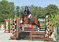 KNHS Springen pony's 17 september 2017